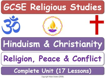 Hinduism & Christianity - Religion Peace & Conflict (17 Lessons)