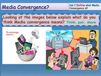 Media Convergence GCSE Media Studies UNIT 1 Media Exams TV Game Shows