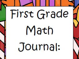 First Grade Math Journal BUNDLE (for the whole school year)