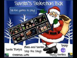 Christmas English /  Maths Games