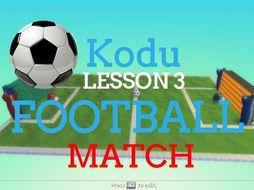 Kodu - Football Match - Lesson 3