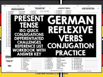 GERMAN REFLEXIVE VERBS CONJUGATION 1