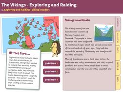 Invaders - Interactive Teaching Book - The Vikings KS2