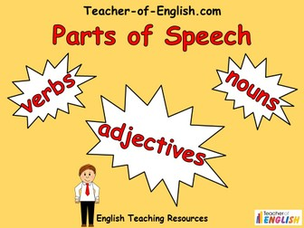 Parts of Speech - Year 4/5