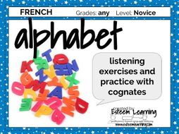 Alphabet Practice in French