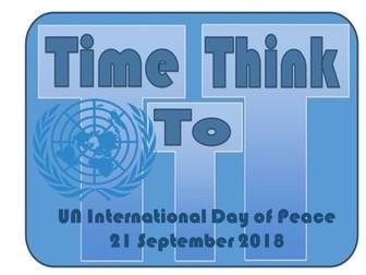 UN International Day Of Peace Assembly September 2018 TTT