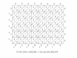 lattice multiplication worksheets by freckless teaching resources. Black Bedroom Furniture Sets. Home Design Ideas