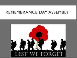 Remembrance Assembly