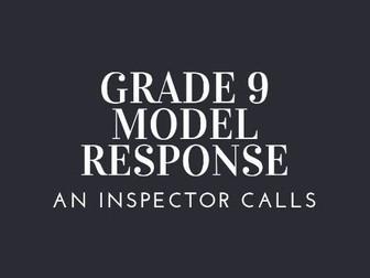 GRADE 9 MODEL INSP GOOLE IMPORTANCE WITH FREE PLAN