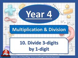 Year 4 – Multiplication and Division – Divide 3-digits by 1-digit - White Rose Maths