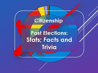 Citizenship: Past Elections: Stats; facts and trivia