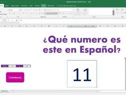 Random number generator for Spanish