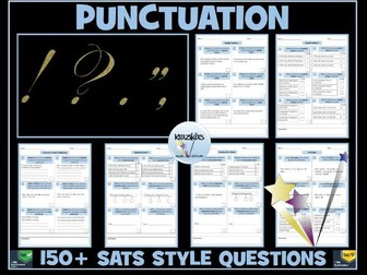 SATS Revision - English: Punctuation Questions