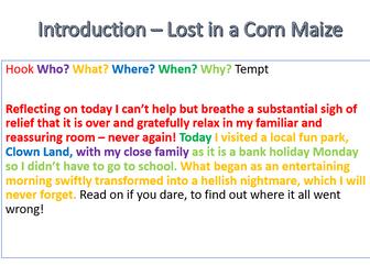 Recount Writing KS2 Powerpoints & Plan