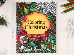 Christmas Coloring Book | Coloring Christmas - 30 Christmas coloring pages | Digital Download