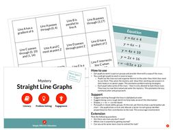 Straight Line Graphs (Mystery)