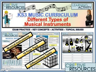 Different Musical Instruments