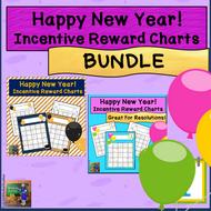 Happy New Year! Incentive Reward Sticker Charts *BUNDLE