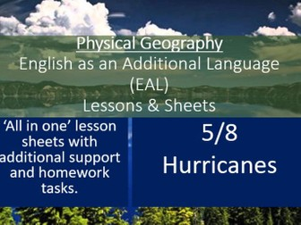 Geography - EAL Lesson Sheets - Hurricanes - EAL Resources 5/8