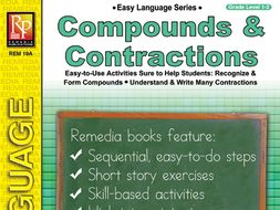 Compounds & Contractions: Easy Language Series