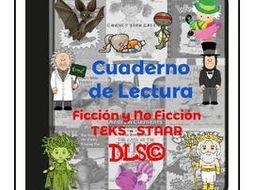 Cuaderno Interactivo de Lectura 3ro y 4to - TEKS - STAAR - All year content.
