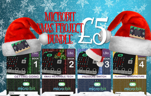 Xmas Wearable Tech MicroBit Project Bundle
