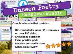 Unseen Poetry GCSE