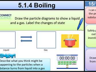 5.1.4 Boiling KS3 Activate Matter AQA