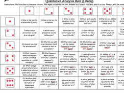 OCR New Spec qualitative testing Roll it Revision