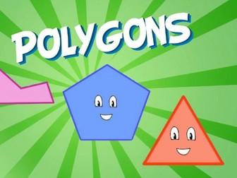 Regular 2D Polygons