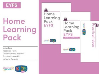 FREE Home Learning Pack for EYFS
