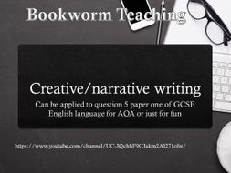 Creative writing homework tes