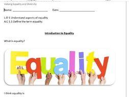 Valuing Equality And Diversity