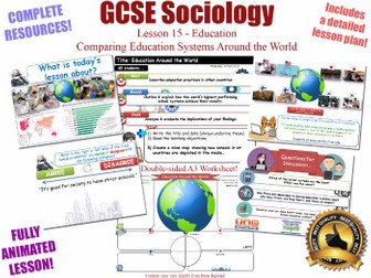 Education Around the World - Sociology of Education L15/20 [ AQA GCSE Sociology - 8192]