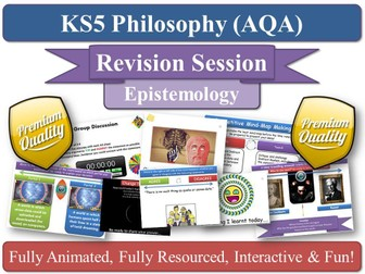 The Limits of Knowledge ( AQA Philosophy ) Epistemology - Revision Session AS / A2 / KS5 Exam Prep