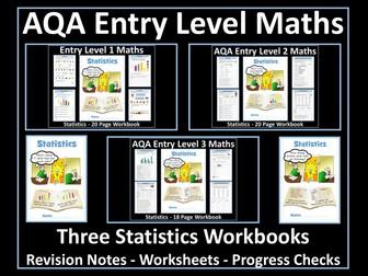 Statistics: AQA Entry Level Maths