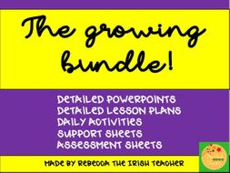 Whole Class Guided Reading: Growing Bundle