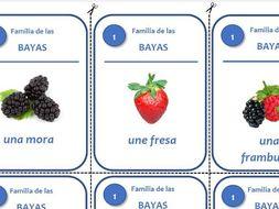 Juego de las siete familias - La fruta