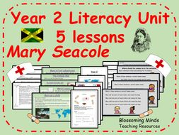 Mary Seacole - Year 2 Literacy 5 lesson plan