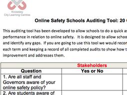 Online Safety Audit Tool