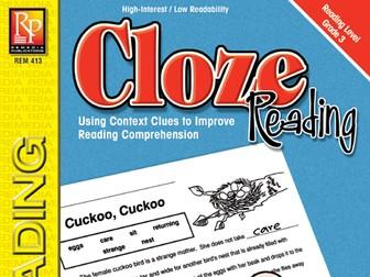 Cloze Reading (Grade 3)