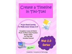 creating timelines using tiki toki a free web 2 0 tool by