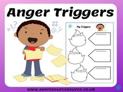 Anger Triggers Worksheet