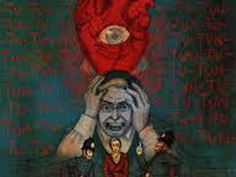 English:  Horror Iconography, Tropes and Language