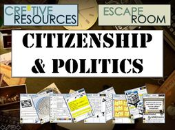 Politics & Citizenship Escape Room
