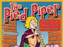 Pied Piper: Read & Color