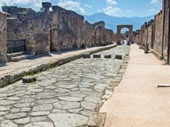 Escape from Pompeii short story