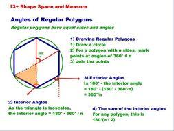 Angles of Regular Polygons