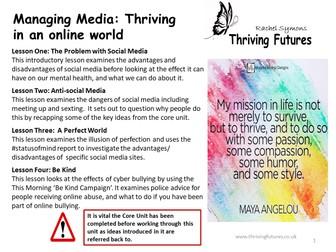 Mental Health: Social Media