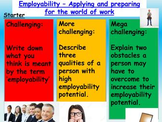 Employment / Employability Skills: Careers
